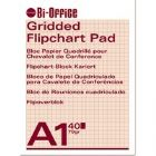 BiOffice Flipchart Pads A1 Gridded (Pack of 5)